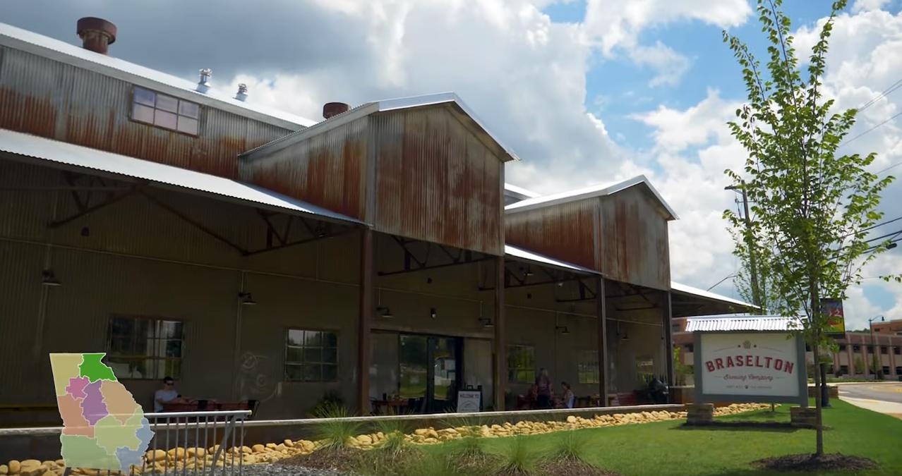 An old warehouse in Braselton, GA
